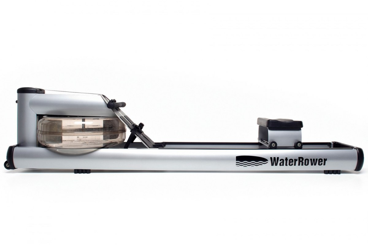 WaterRower M1 LoRise Rowing Machine S4 Aluminum