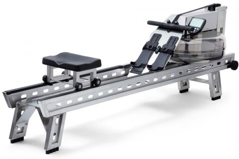WaterRower S1 HiRise Rowing Machine S4 Steel