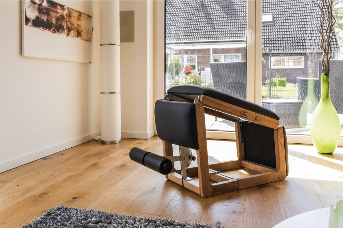 TriaTrainer Exercise Bench NOHrD Club Ash Leather