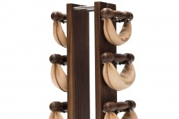 NOHrD Classic SwingBell Tower 1-6 Kg Set Walnut