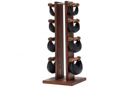 NOHrD Club SwingBell Tower 1-6 Kg Set Ash