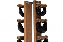 SwingBell Tower NOHrD 1-6 Kg Set Oak Oak Leather