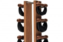 SwingBell Tower NOHrD 2-8 Kg Set Oxbridge Cherry Leather