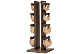SwingBell Tower NOHrD 2-8 Kg Set Classic Walnut Leather
