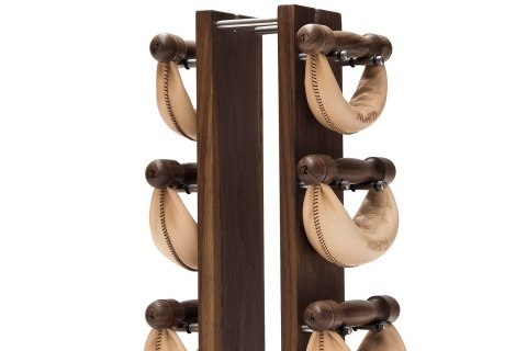 NOHrD Classic SwingBell Tower 2-8 Kg Set Walnut