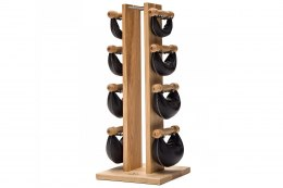 NOHrD Natural SwingBell Tower 2-8 Kg Set Ash