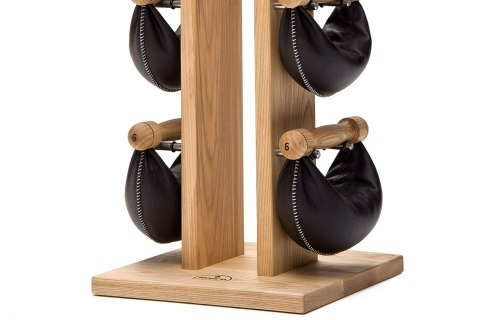 NOHrD Natural SwingBell Tower 2-8 Kg Set Ash Leather