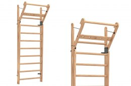 Gym Ladder NOHrD WallBar 10 Natural Ash