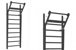 Gym Ladder NOHrD WallBar 10 Shadow Ash