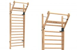 Gym Ladder NOHrD WallBar 14 Natural Ash