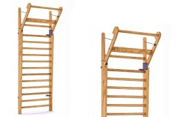 Gym Ladder NOHrD WallBar 14 Oxbridge Cherry