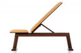 NOHrD Classic Nature Bench Press Walnut Leather