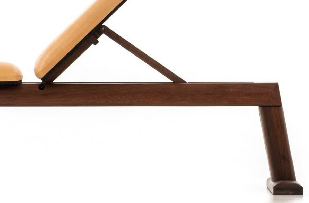 Bench Press NOHrD Classic Nature Walnut Leather