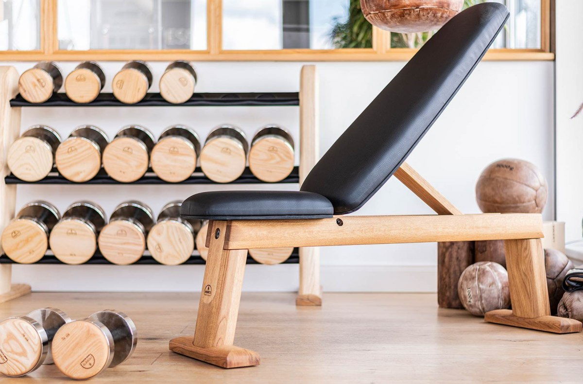 Bench Press NOHrD Natural Ash Leather