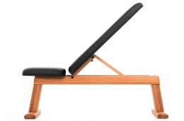 NOHrD Oxbridge Bench Press Cherry Leather