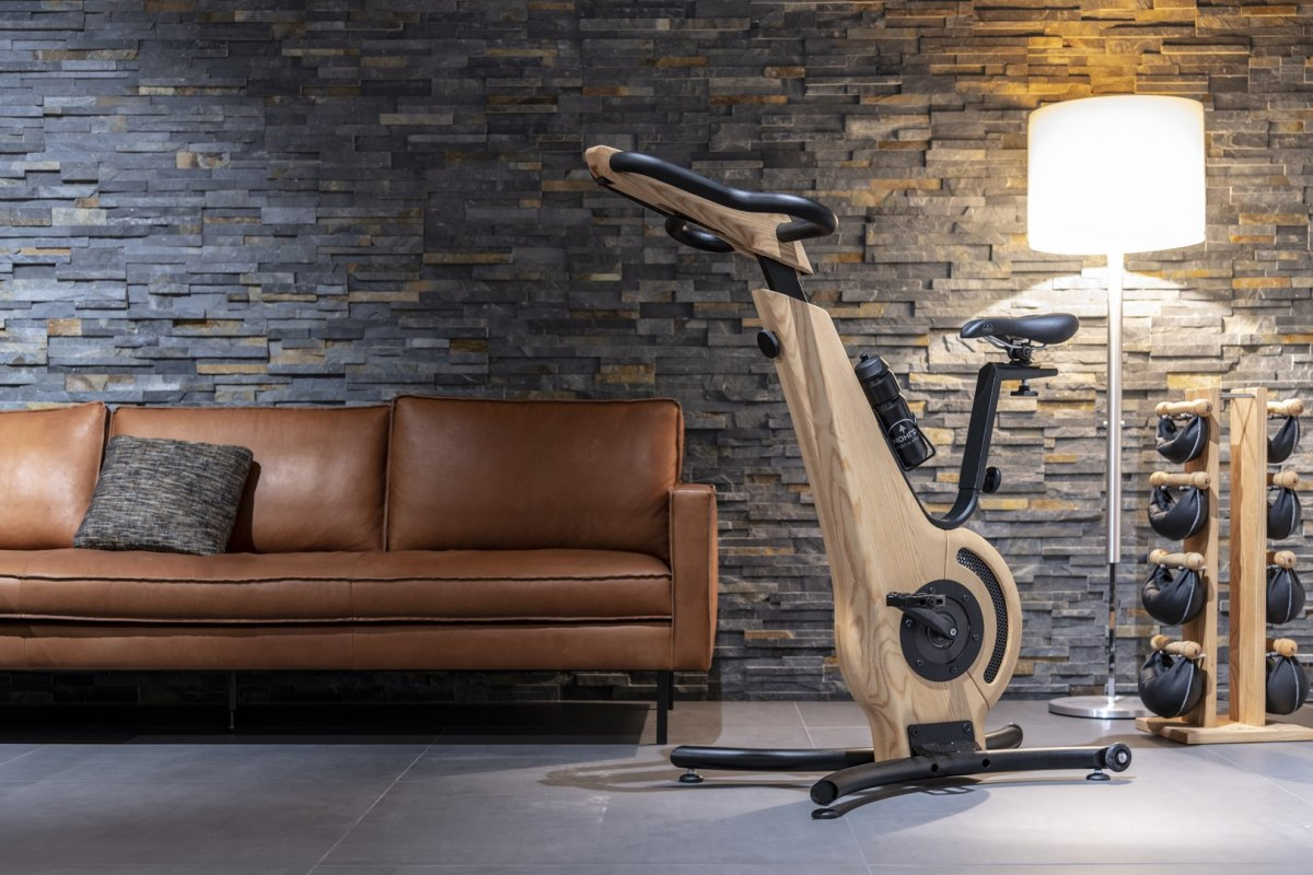 Exercise Bike NOHrD Classic Walnut