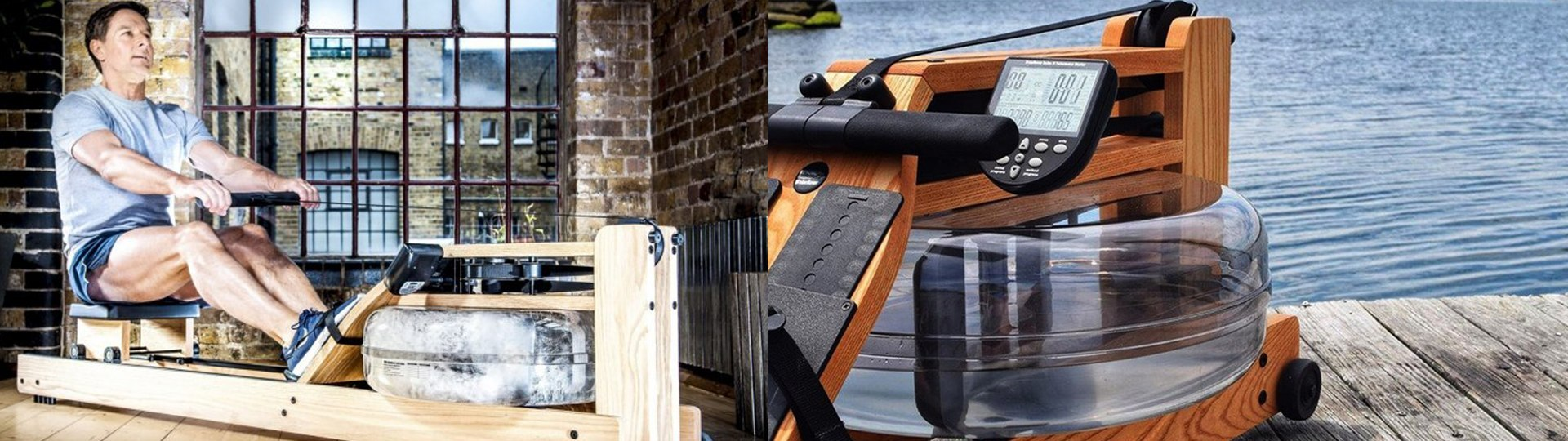 The difference between a WaterRower rowing machine and other rowers