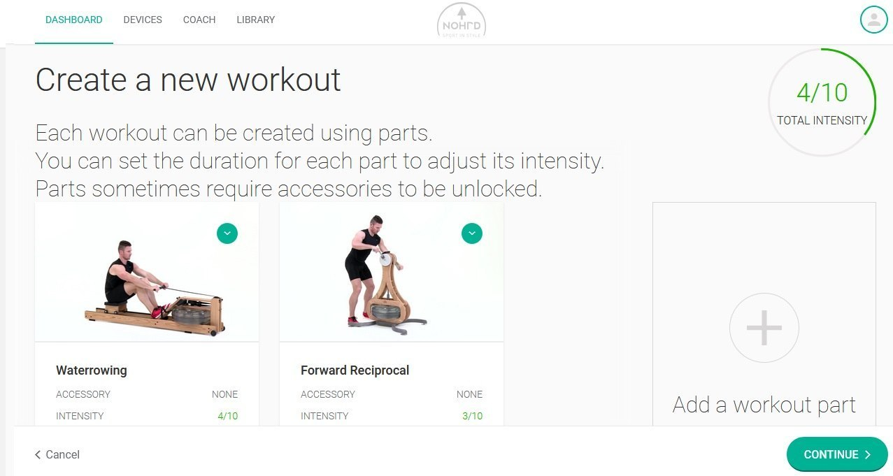 My-NOHrD New Workout