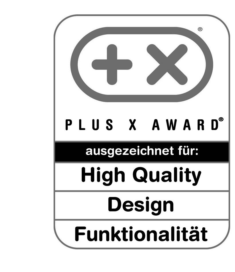 Plus X Award